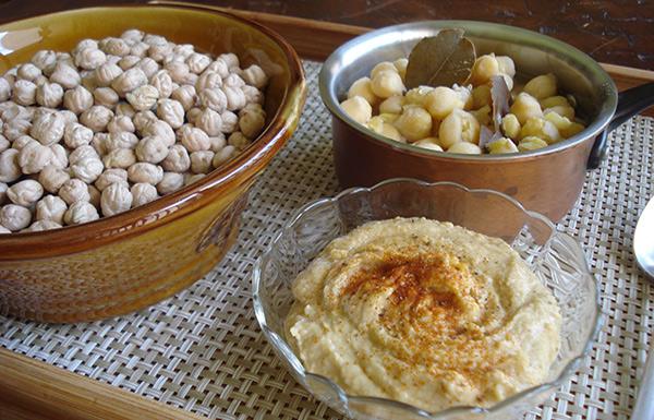 Grão de Bico & Hummus Tahine