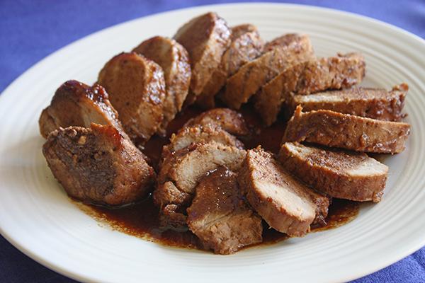 Lombinho de porco asiático