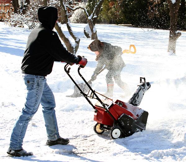 Residentes de Newark poderão ser multados se jogarem neve nas ruas