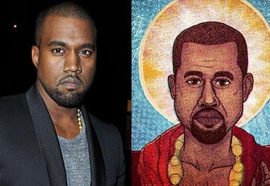 Fãs criam religião para venerar Kanye West como se fosse o salvador