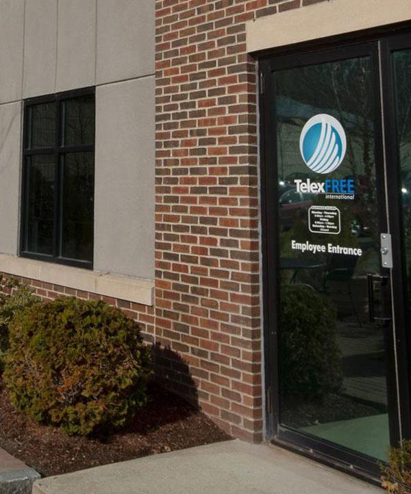Na terça-feira (15), as autoridades federais vasculharam a sede da TelexFree em Marlborough (MA), depois que a empresa apresentou o pedido de concordata