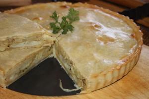 torta de cebola com batata 1 300x200 Torta de Cebola e Batata