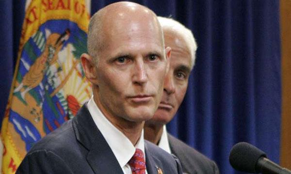 Ativistas pressionam o Governador Rick Scott a aprovar uma lei que permita aos imigrantes indocumentados o - Foto16-Governador-Rick-Scott-