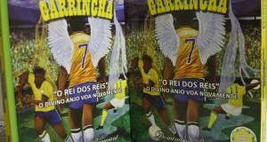 Trata-se de um livro biográfico, ilustrado e dedicado aos colecionadores do ex-jogador de futebol Mané Garrincha