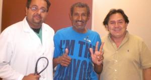 Dr. Patel, Geraldo Corredor e Ailton de Souza