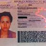 Veja comparação do passaporte oficial de Lília com cabelo preso e simulação feita por programa de TV