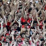 O Flamengo detém 16,2% dos torcedores do país, representando 32,5 milhões de pessoas