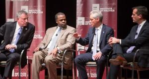 """O programa """"Cidades pela Cidadania"""" é uma colaboração entre o Prefeito Bill de Blasio, o prefeito de Chicago, Rahm Emanuel, e o prefeito de Los Angeles, Eric Garcetti"""