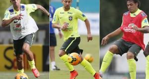Diego Tardelli, Everton Ribeiro e Ricardo Goulart serão desfalques para seus clubes em três partidas