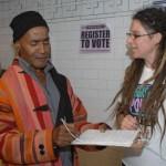 Participantes da campanha, representando comunidades caribenhas, asiáticas, árabes e latinas divulgaram a mensagem de que os imigrantes votarão em representantes que apoiem questões fundamentais para as comunidades formadas por imigrantes