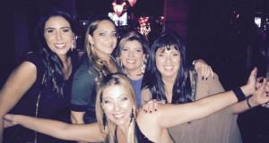 Moema Migliori, Flavia Olm, Fabricia de Freitas, Gabriela Koliver e Cris Camarotto Queiroz