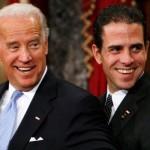 Hunter é o mais novo dos dois filhos do vice-presidente Joe Biden