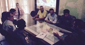 Reunião da sede do CPE teve presença da Polícia Militar e representantes de Atlético e Cruzeiro