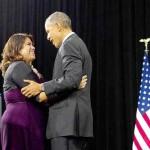 Quando Obama expandiu o programa esse ano, ele compartilhou a saga de Astrid Silva, de 26 anos, na televisão
