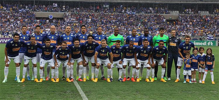 Cruzeiro tem o elenco mais valioso do Brasil pelo segundo ano consecutivo