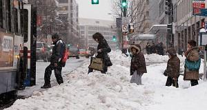 Uma mistura de neve, chuva congelada e ventos fortes podem cobrir New Jersey, quando a tempestade passar pela Costa Leste no sábado (24)