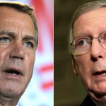 Na terça-feira (27), Boehner e McConnell começaram a tentar resolver o impasse orçamentário