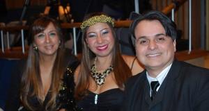 Claudia Cascardo, Joanna Nova York e Marco Antonio