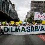 Os protestos aconteceram nas principais capitais do Brasil, notadamente em São Paulo, onde a famosa Avenida Paulista foi o local escolhido pelos ativistas