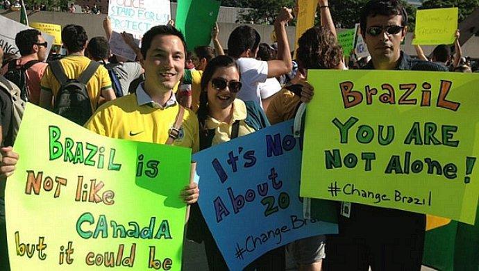 Brasileiros no mundo protestam contra governo Dilma neste domingo