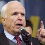 """""""Eu acho que sim"""", acrescentou McCain quando perguntado pela imprensa se a posição de Walker faz com que o Partido Republicano (GOP) pareça """"contra os imigrantes"""""""