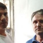 Os brasileiros Rodrigo Gularte (esq) e Marco Archer foram presos em 2005 e condenados à pena de morte na Indonésia por tráfico de drogas