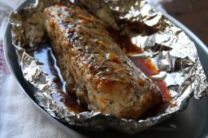 lombo de porco com tomilho e geleia 300x200 Lombio de porco com tomilho e molho de geleia