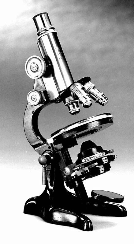 microscópio Grande é pensar pequeno