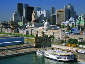 A moderna Montreal, na província de Quebec, é uma das maiores e mais belas cidades do Canadá