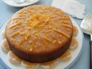 bolo de tangerina 2 300x225 Bolo de tangerina com castanha de caju