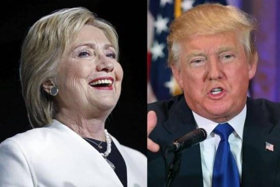 Hillary aumenta vantagem sobre Trump, diz pesquisa