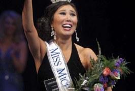 Chinesa, Miss Michigan defende a imigração