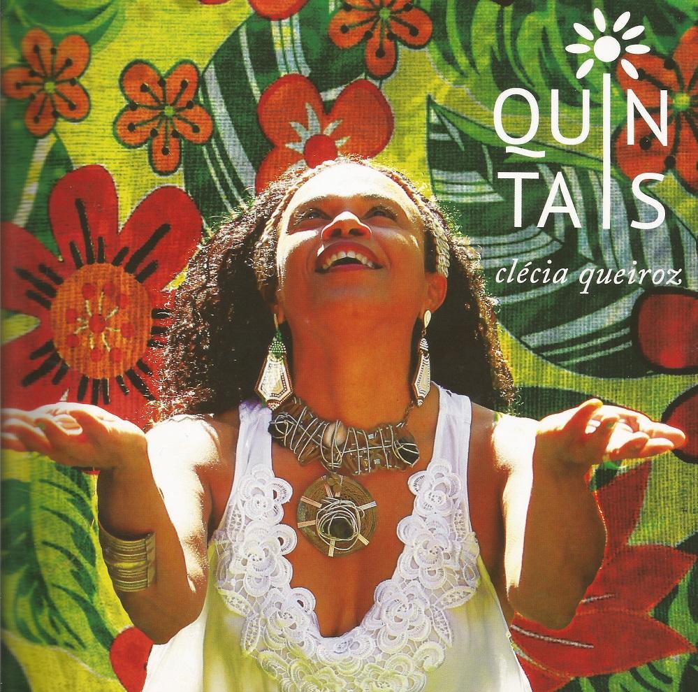 Capa CD Clecia Queirz Quintais CD que é referência sobre os gêneros do samba