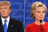 Pesquisa: Hillary venceu Trump em debate presidencial