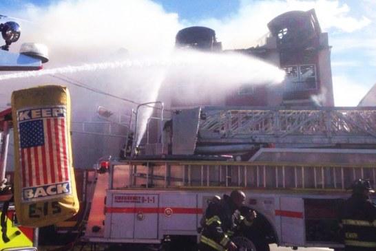 Incêndio no Paleio deixa 16 brasileiros desabrigados no Ironbound