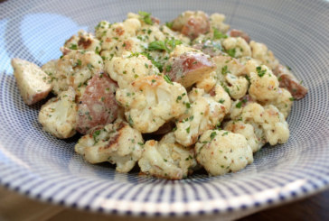 Salada de couve-flor assada e batata