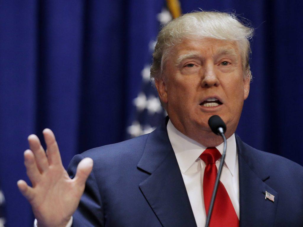"""Foto24 Donald Trump  1024x768 Trump """"virou a casaca"""" na legalização de indocumentados"""