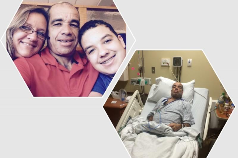 Foto30 Sandro Messias Brasileira faz campanha para marido com câncer em Maryland