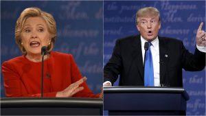 Hillary venceu o primeiro debate com Trump por 34 pontos, ou seja, 61% contra 27%, uma das maiores lideranças em pesquisas desde 1960