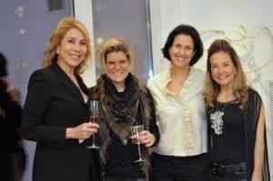 Marcia Grostein, Maria Ines Morais, Nana Cunha e Flavia Guimaraes