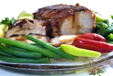 Lombo de porco com molho agridoce