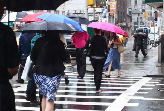 Especialistas preveem chuvas fortes no domingo (22)