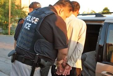 ICE prende mais 74 indocumentados com antecedentes criminais