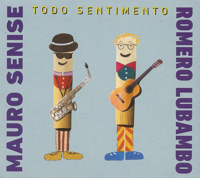 Capa CD Mauro Senise e Romero Lubambo 1 1 + 1 = 7