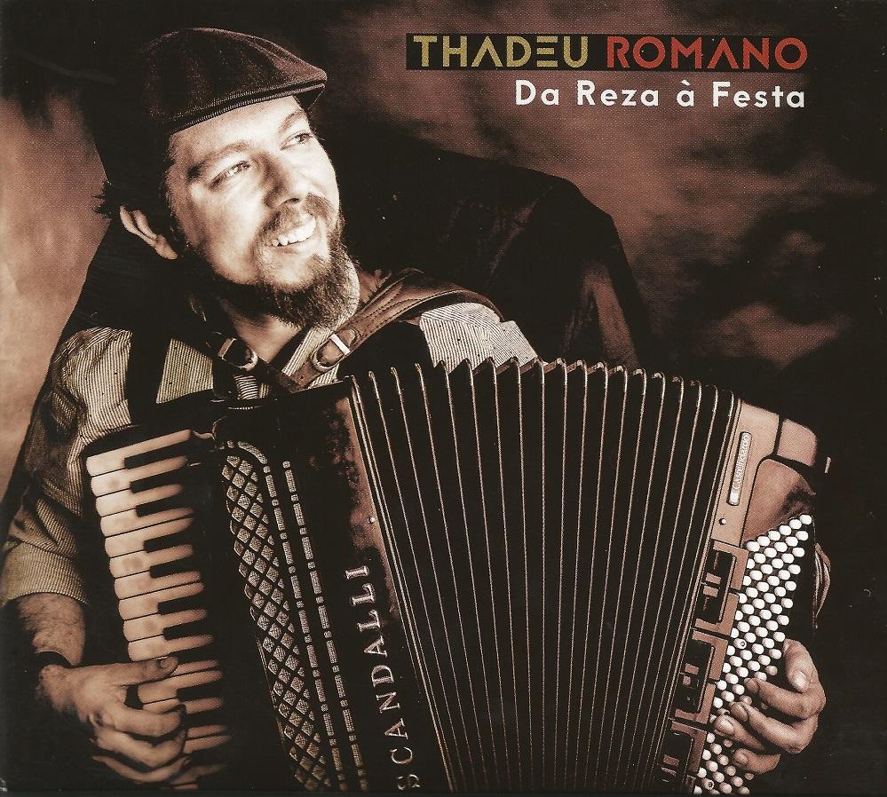 Capa CD Thadeu Romano Um CD brilhante