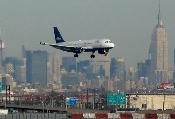 Aeroporto de Newark é o 1º em atraso de voos no país