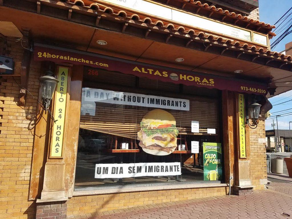 """Foto7 Altas Horas 1024x768 Comércio brasileiro participa do protesto """"Um Dia Sem Imigrante"""", em Newark"""