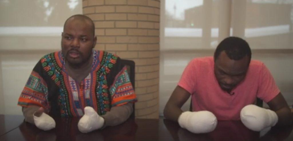 Razak Iyal e Seidu Mohammed 1024x494 Desesperados, imigrantes arriscam a vida para entrar no Canadá