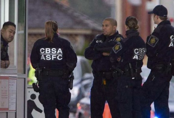 Patrulha canadense detém recorde de mexicanos na fronteira