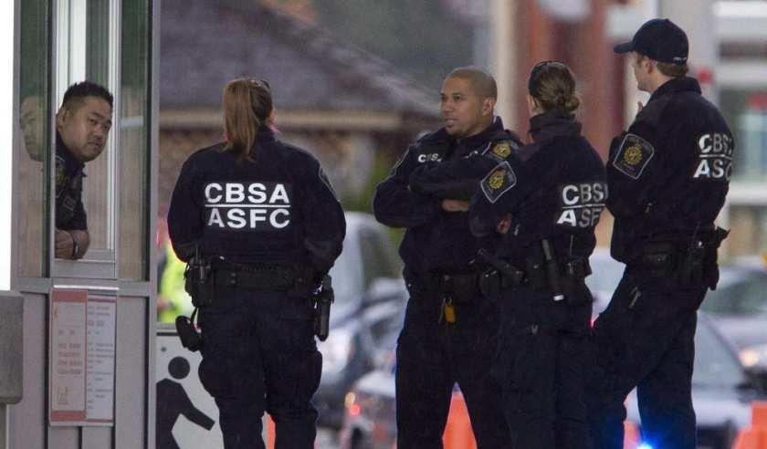 Foto21 Agentes do CBSA Patrulha canadense detém recorde de mexicanos na fronteira